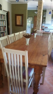 Beautiful conference table with 12 chairs