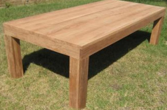 R 8 000 For Sale 2m X 1m Raw Solid Teak Or Kiaat Dining Room Table