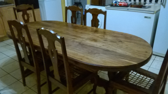 R 8 000 For Sale Imbuia Dining Room