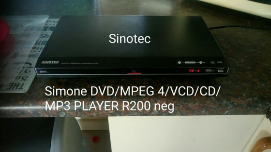 Simone dvd and mp3 player