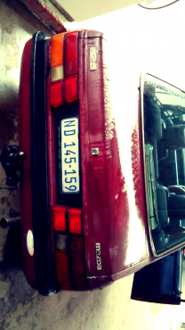 MAZDA 626,Model 1984 Electric windows mirros also,Fabric seates 2 Owners, Power steering neat interi