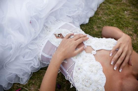 Swarovski Crystal Wedding Dress