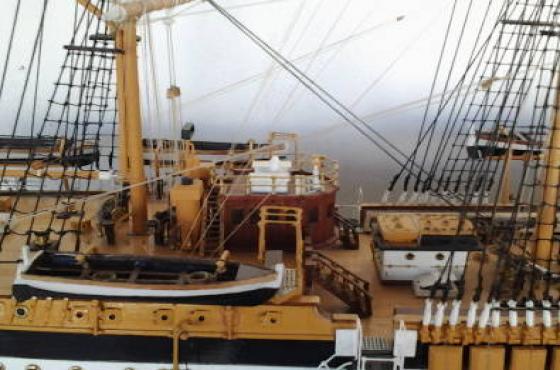 Amerigo Vespucci Model Ship