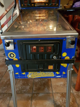 Cash paid for Pinball Machines
