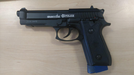 9mm Guerrilla Police CO2 Pistol | Junk Mail