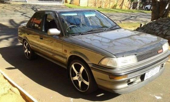 Toyota Corolla 1996 model