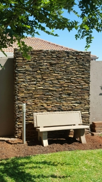 CLADDING:   RIVENS & STRIP WALLING various  colours  and  sizes