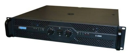 Hybrid C2000 power amplifier