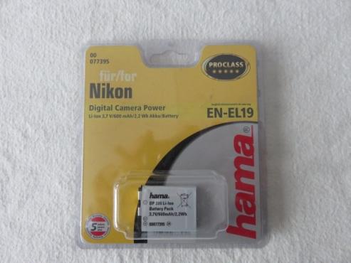 Nikon EN-EL19 Hama Batteries