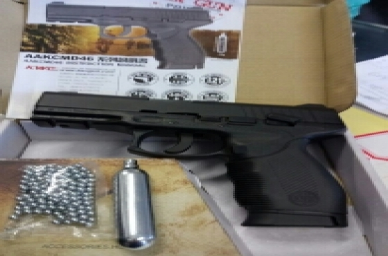 New gas pistols. R1299