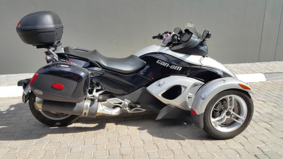 09 CAN AM SPYDER 990