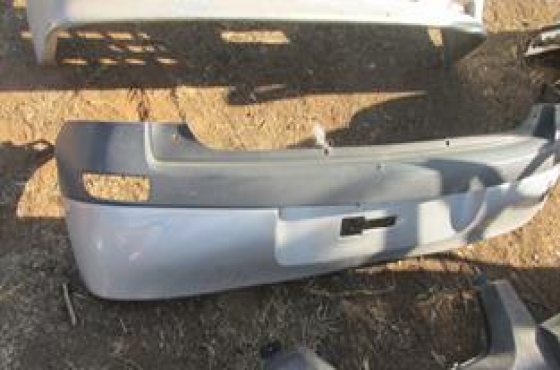 2008 Opel Corsa Gamma Hatch Rear Bumper Silver For Sale