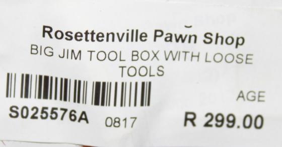 Big Jim toolbox S025576a