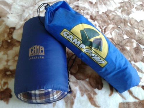 Camp tent and Sleeping bag