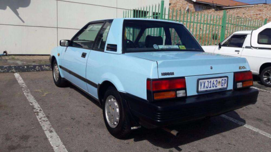 nissan exa in cars in south africa junk mail. Black Bedroom Furniture Sets. Home Design Ideas