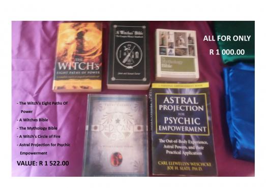 Wiccan / Spiritual Books   Junk Mail