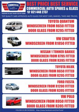 Commercial Auto Spar