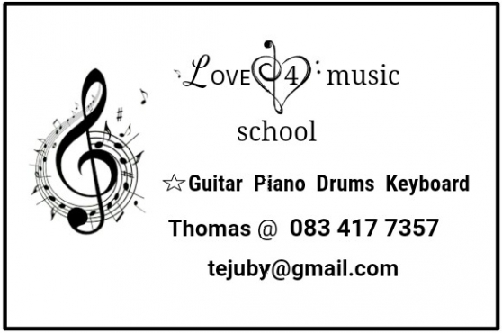 Music lessons in JHB