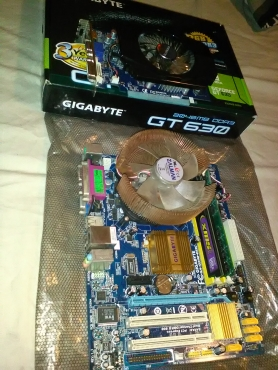 Gigabyte motherboard + graphics card | Junk Mail