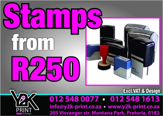Logo designs from R 450 excl.