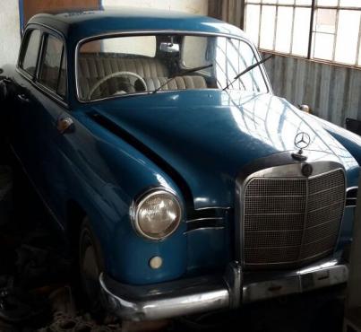 1961 Mecedes Ponton 190D