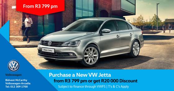 Purchase a New V.W Jetta