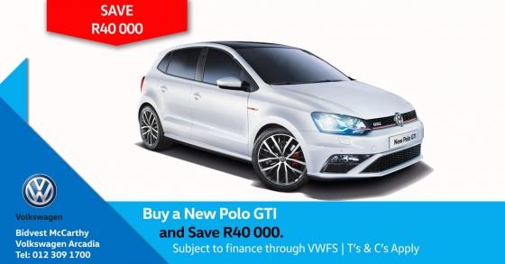 Buy a New Polo GTI