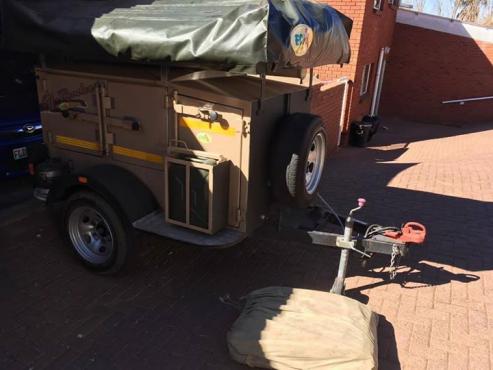 Echo off road trailer.