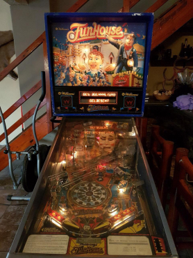 Fun House Pinball Machine | Junk Mail