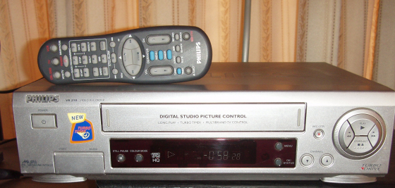 Philips Video Machine - VCR - in excellent working order