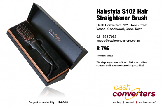 Hairstyla S102 Hair Straightener Brush
