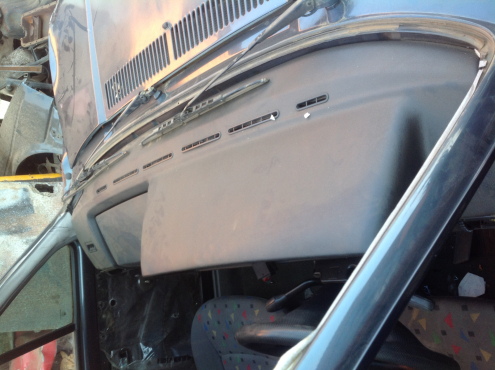 Stripping VW Citi Golf 2003 for Spares