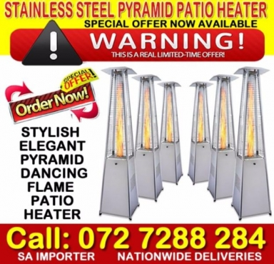 Quality stainless steel pyramid flame heaters