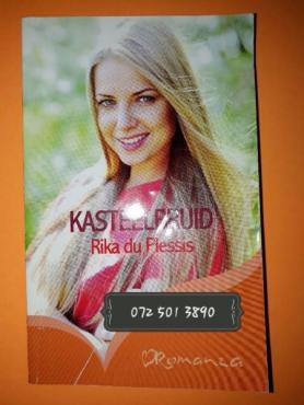 Kasteelbruid - Rika Du Plessis - Romanza.
