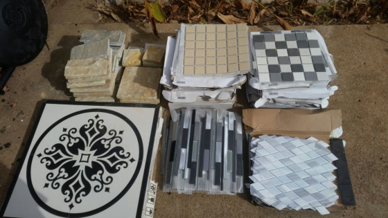 Various wall/floor tiles for SALE