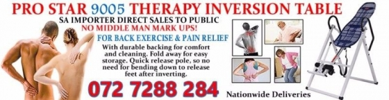Inversion tables - Affordable price