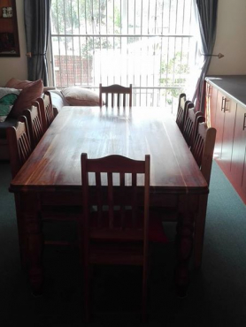 R 15 000 For Sale Port Elizabeth Eastern Cape Parents Selling Their Blackwood Dining Room