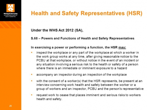 Health and Safety Representative Training (SHE REP) buy ...