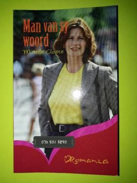 Man Van Sy Woord - Marile Cloete - Romanza.