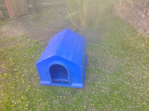 Fibreglass dog kennel for sale