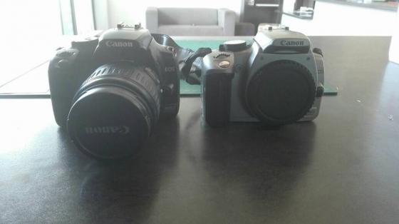 2 digital cameras: