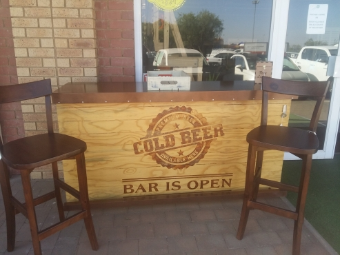Custom Bars For sale.