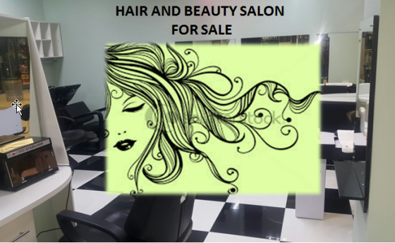 Hair & Beauty Salon in the Mall for sale