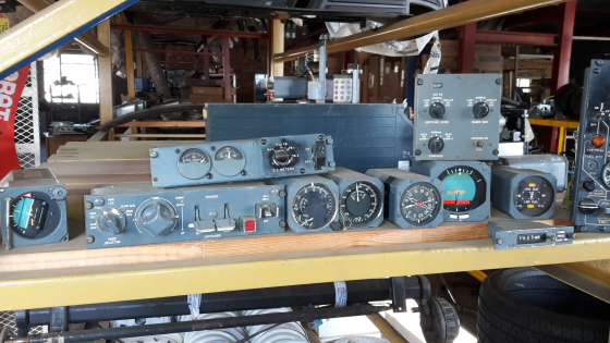 Aircraft gauges, dials, instruments for sale