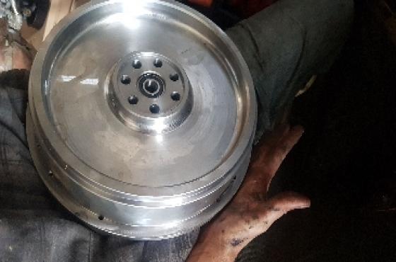 Pajero 3.2 Solid Flywheel