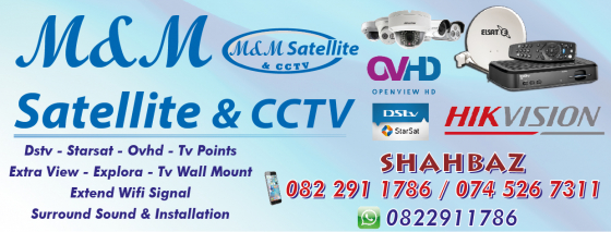 M & M SATELLITE & CCTV - LADYSMITH