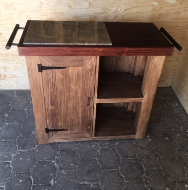 Butchers Block Farmhouse Executive series 1200 with extended height Two tone