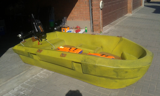 Plastic bait boat for sale
