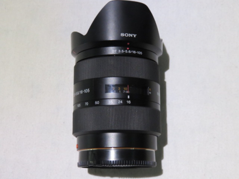 Sony 16-105mm f/3.5 - 5.6 DT A Mount Lens