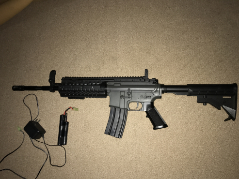 JG m4 S-System airsoft rifle   Junk Mail
